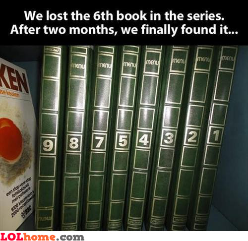 Lost the 6th book
