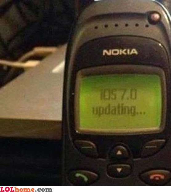 iOS 7 on Nokia