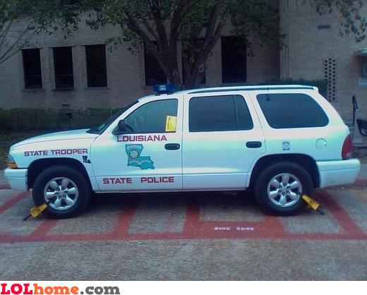 Parking rules enforced