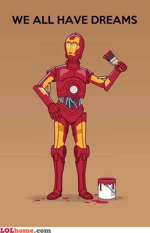 C-3PO's dreams