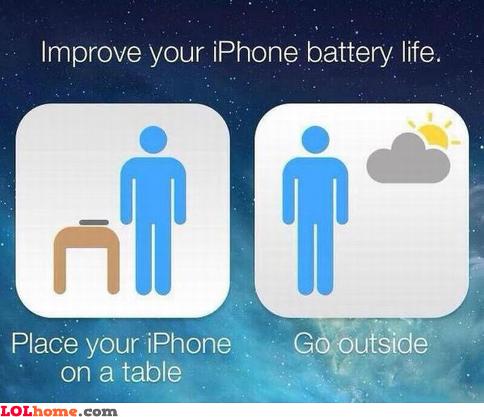 Boost iPhone battery