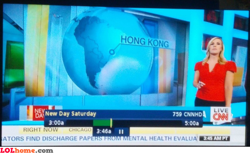 Hong Kong in South America