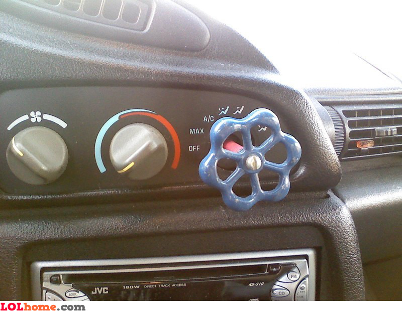 Car knob replacement