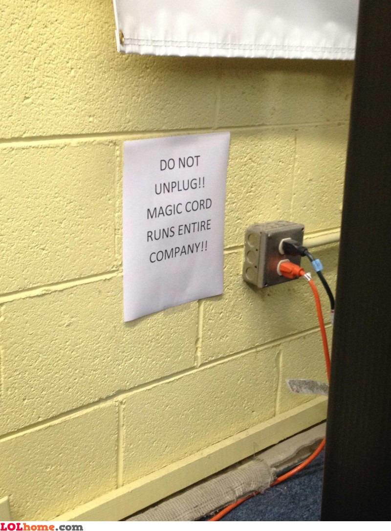 Magic cord