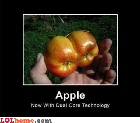 Apple with dual core