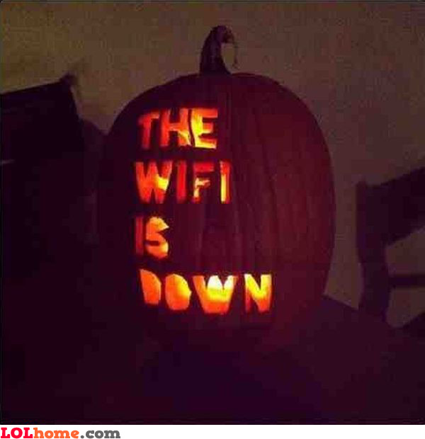 Scariest pumpkin ever