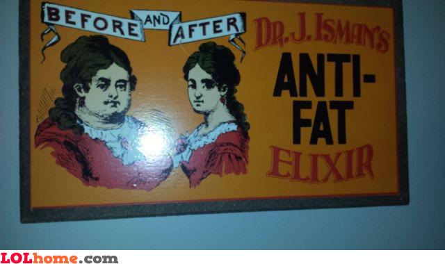 Anti fat elixir