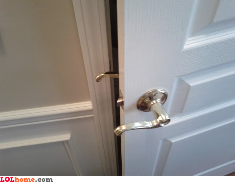 Door handle install