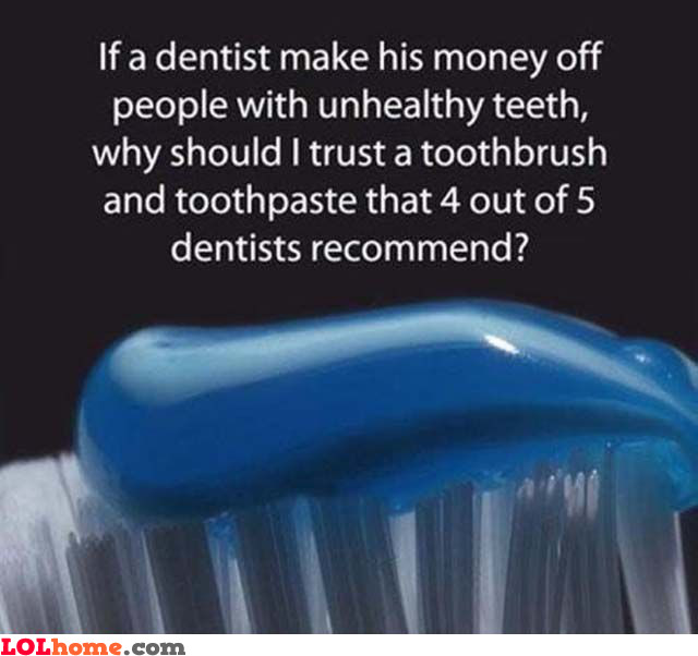 Recommended toothpaste