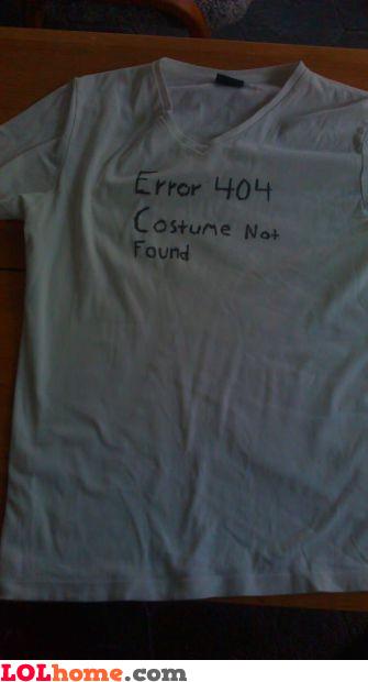 Cheap Halloween costume