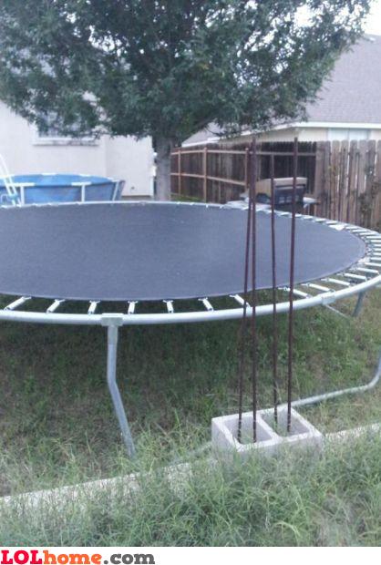 Safest trampoline ever