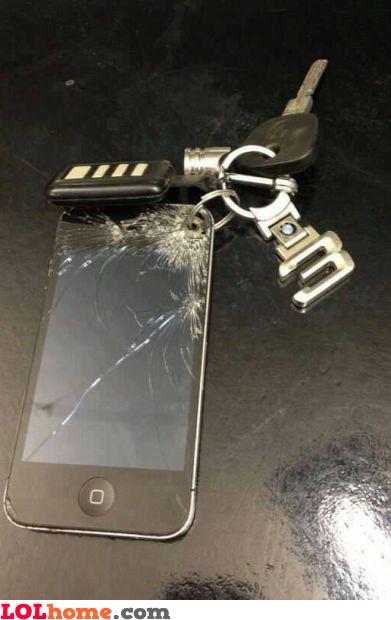 iPhone trinket
