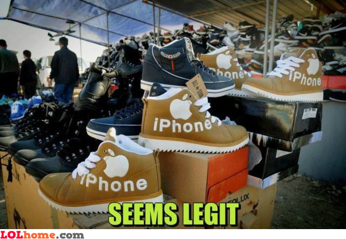New iPhone shoes