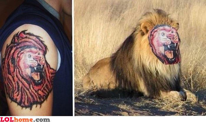 Tattoo fail