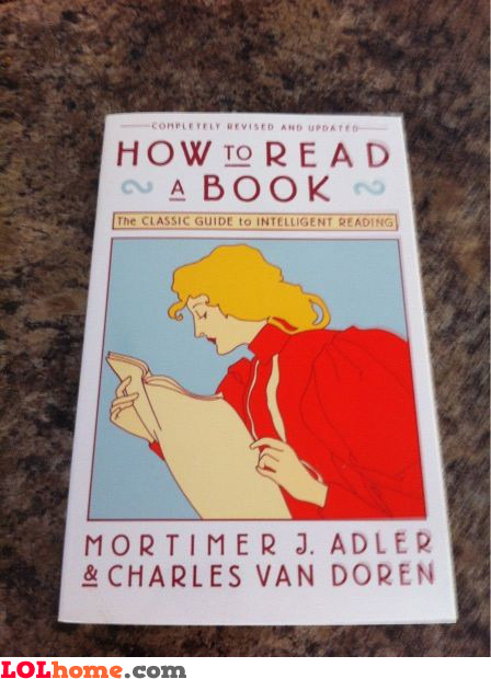 Book reading tutorial