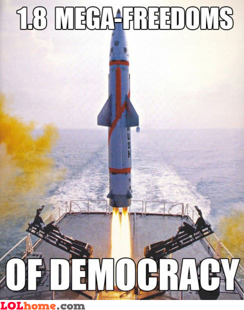 Democracy launched