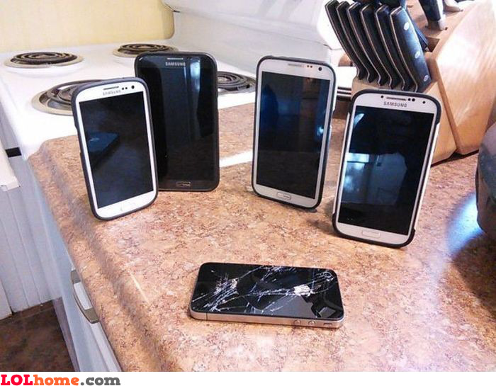We kill the iPhone