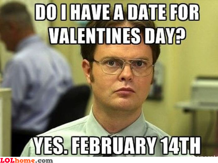 A date for Valentine's