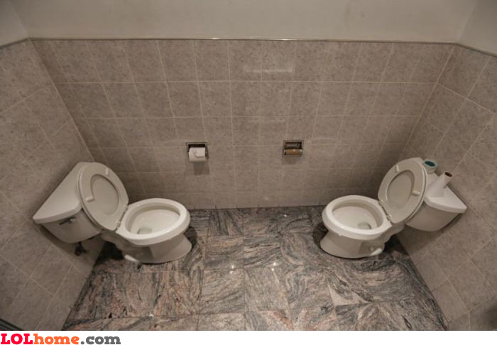 Potty sharing