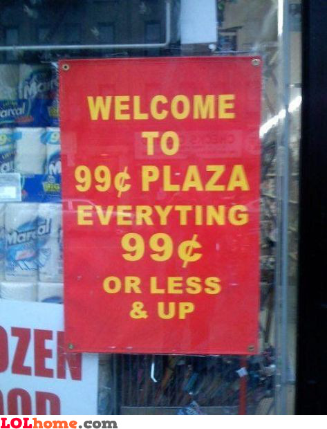 Everything 99c