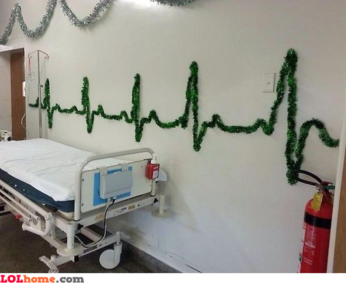 Hospital Christmas decoration