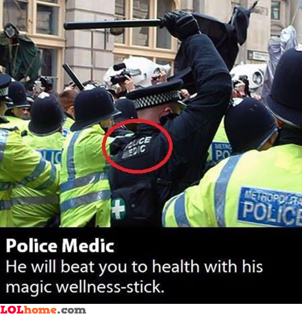 The police medic