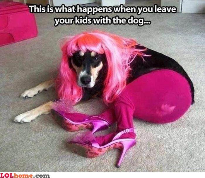Dog whore