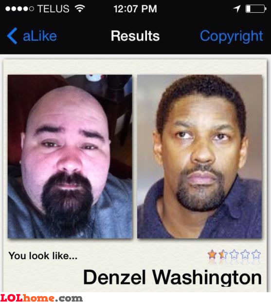 Looks like Denzel Washington