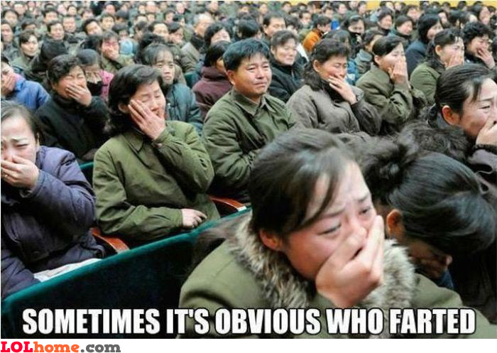 Somebody farted