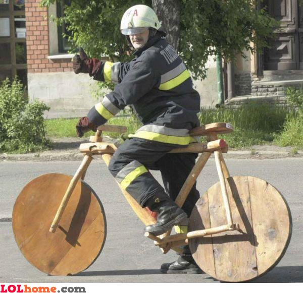 Stoneage bike