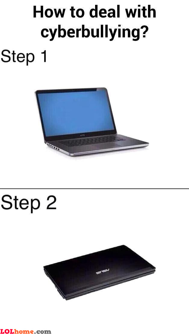 cyber bullying solution 18 tips to stop cyberbullying find out how long the bullying has been going on and ensure that you'll work together to find a solution.
