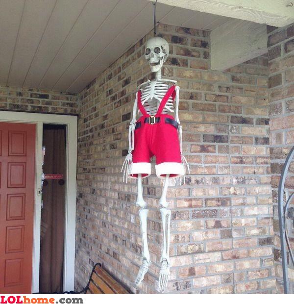 Hanged Santa
