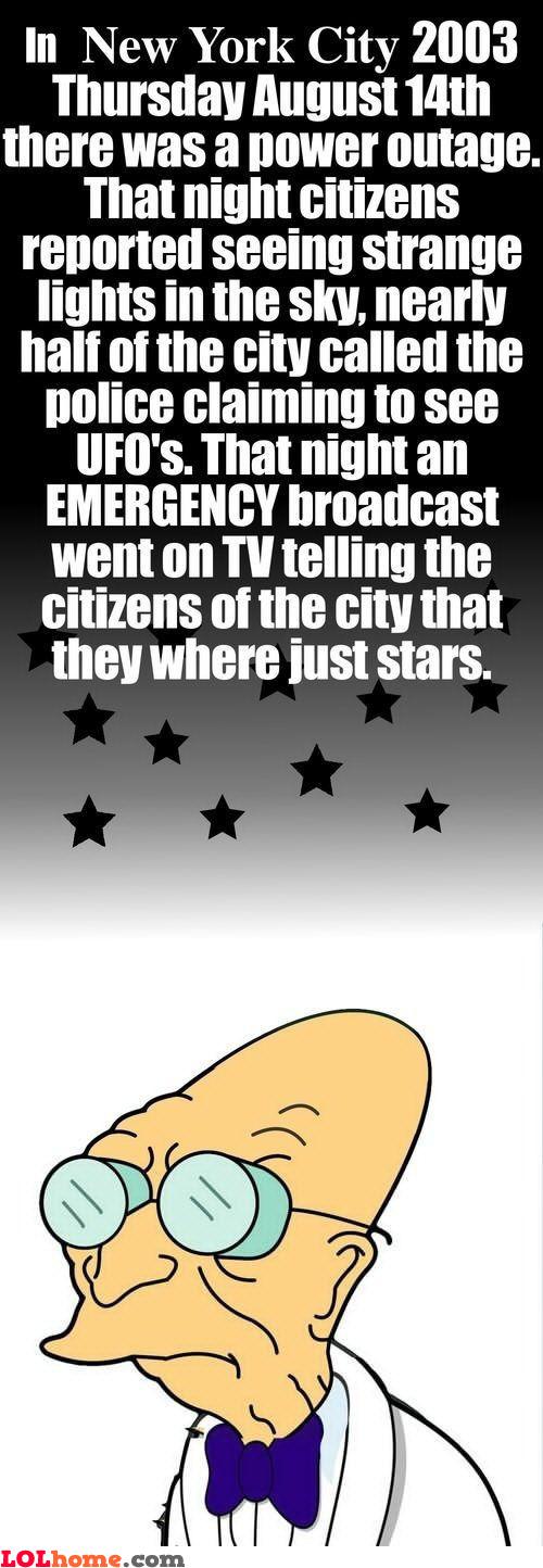 Scary stars