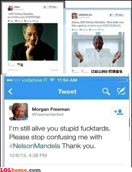 Freeman is dead
