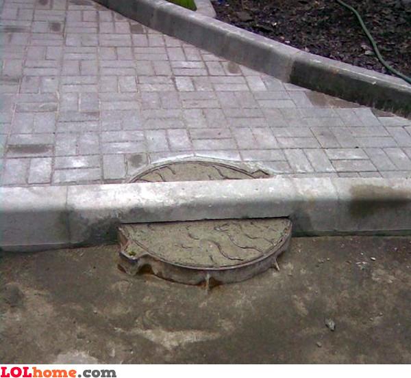 Sealed manhole