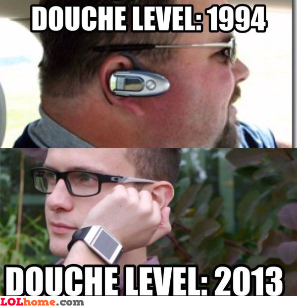 Douche level 2013