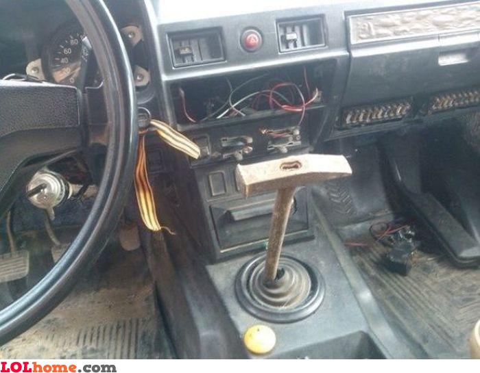 Hammering gears
