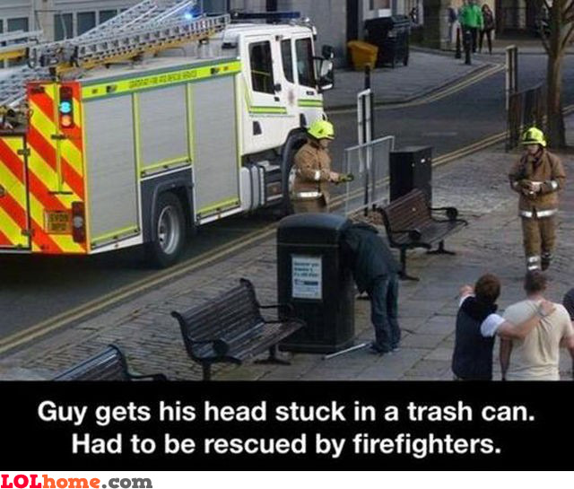 Head stuck