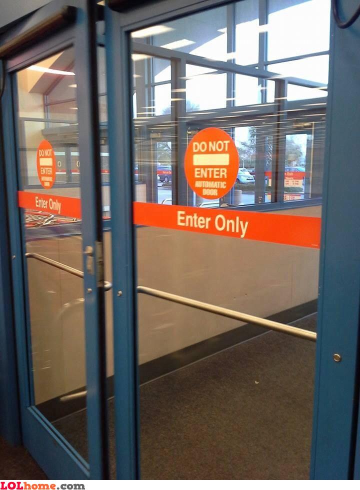 Undecided door