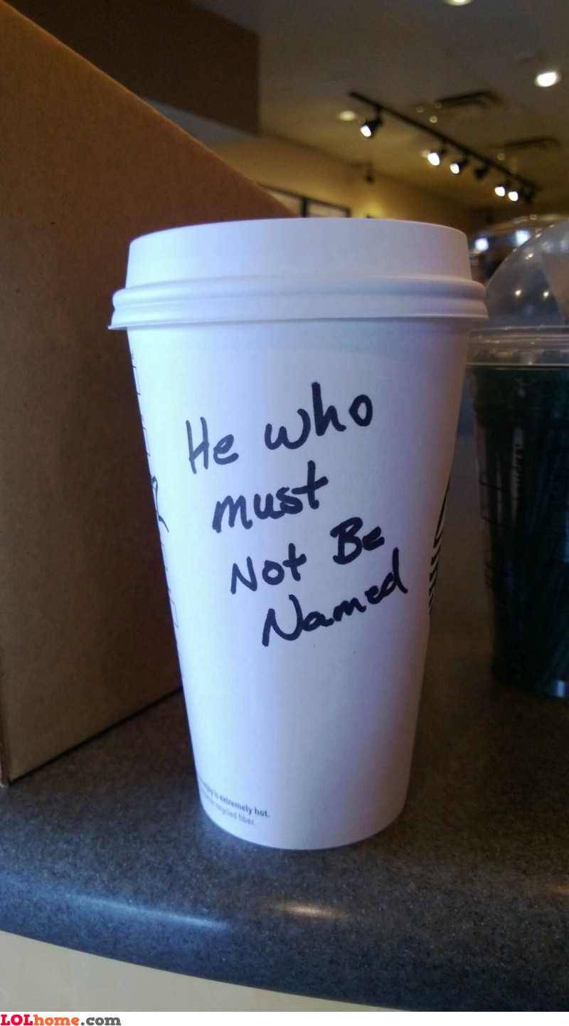 Lord Voldemort's coffee