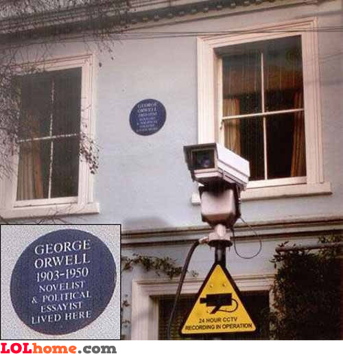 George Orwell's home