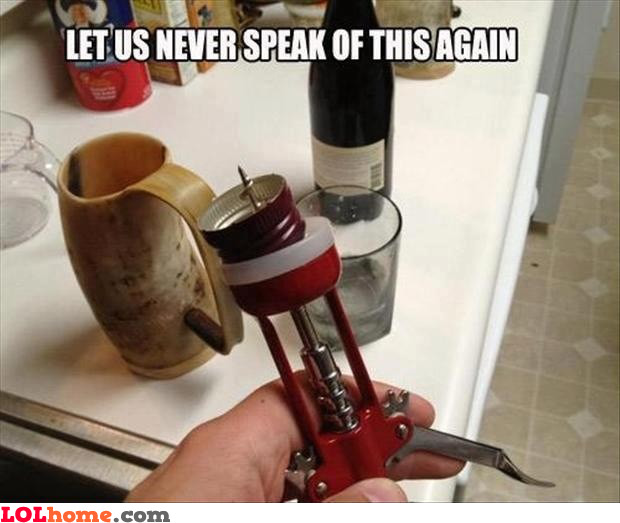 Handy corkscrew