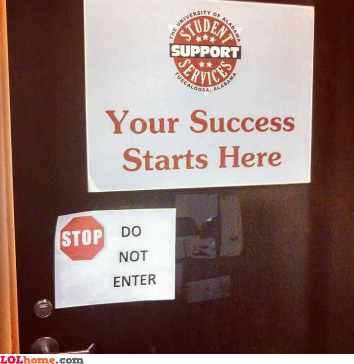 Success denied