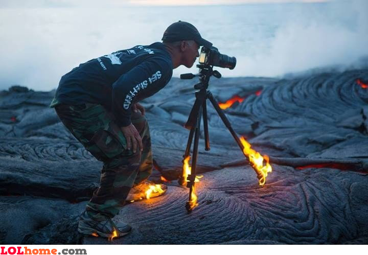 Lava photographer
