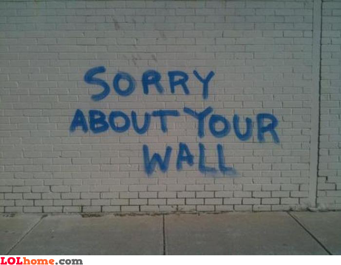 Sorry about this wall