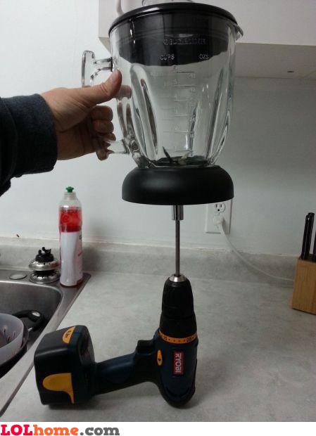Manual blender