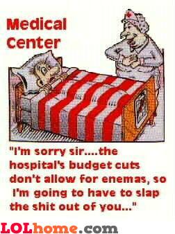 Hospital's budget cuts