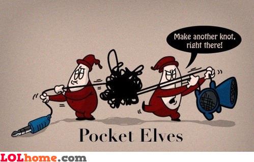 funny image Pocket elves