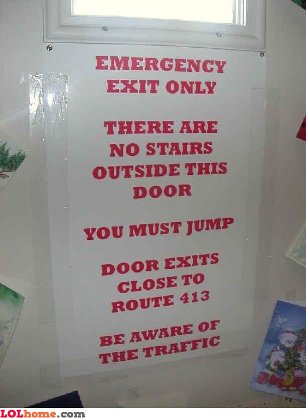 Emergency jump
