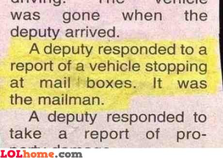 Suspicious mailbox activity